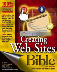 Creating Web Sites Bible, Second Edition
