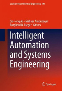 Intelligent Automation and Systems Engineering (Lecture Notes in Electrical Engineering)